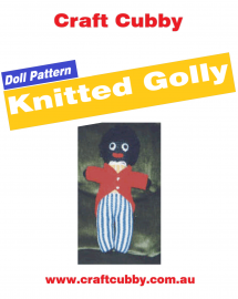 Knitted Golly Cover
